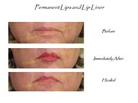 permanent makeup lips and lip liner