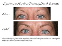 permanent makeup eyebrows and eyeliners